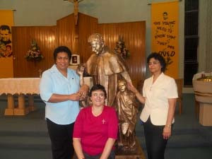 OLR celebrates the Relic of Don Bosco