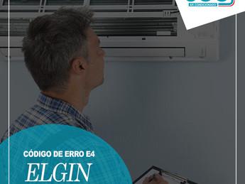 Código de Erro E4 Ar Condicionado ELGIN - Saiba Decifrar