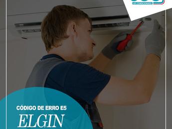 Código de Erro E5 Ar Condicionado ELGIN - Saiba Decifrar