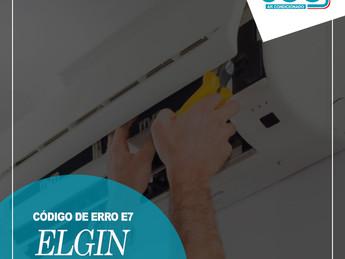 Código de Erro E7 Ar Condicionado ELGIN - Saiba Decifrar