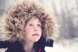 Looking at snowgflakes