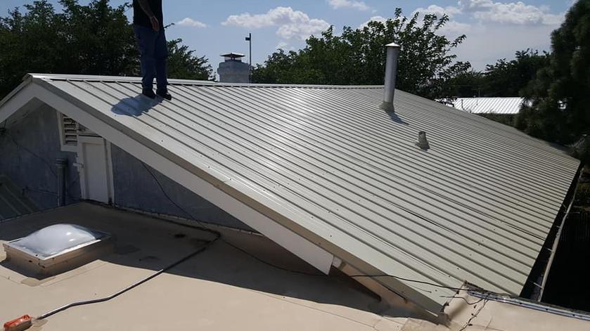 GJ Roofing Job After