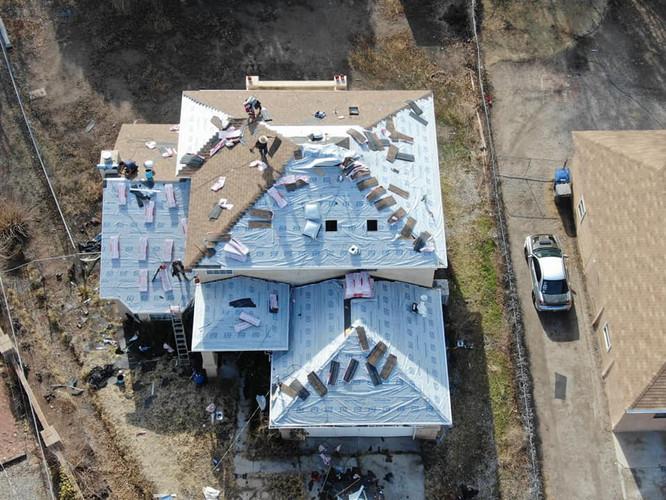 GJ Roofing Aerial 2