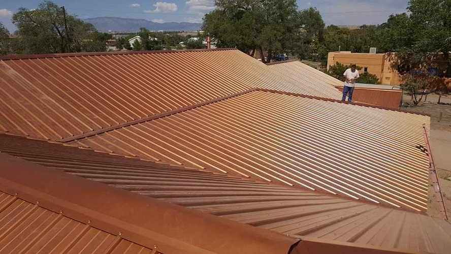 GJ Roofing Metal Roof Complete