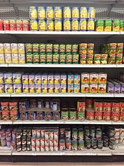 1000s of Canned Good Varieties