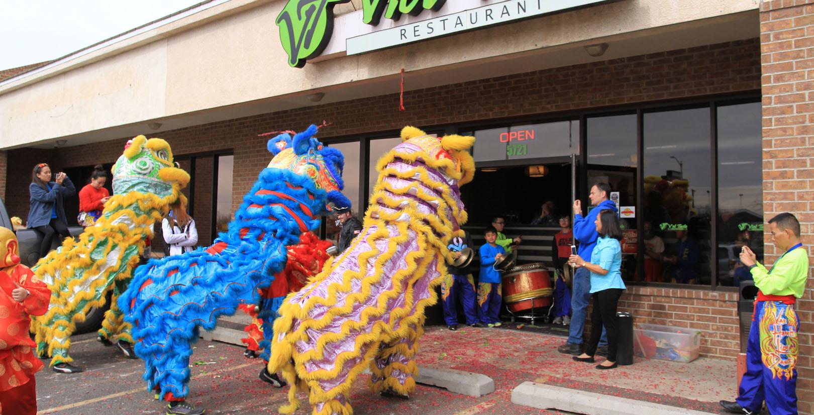 Dragons Ready to Celebrate