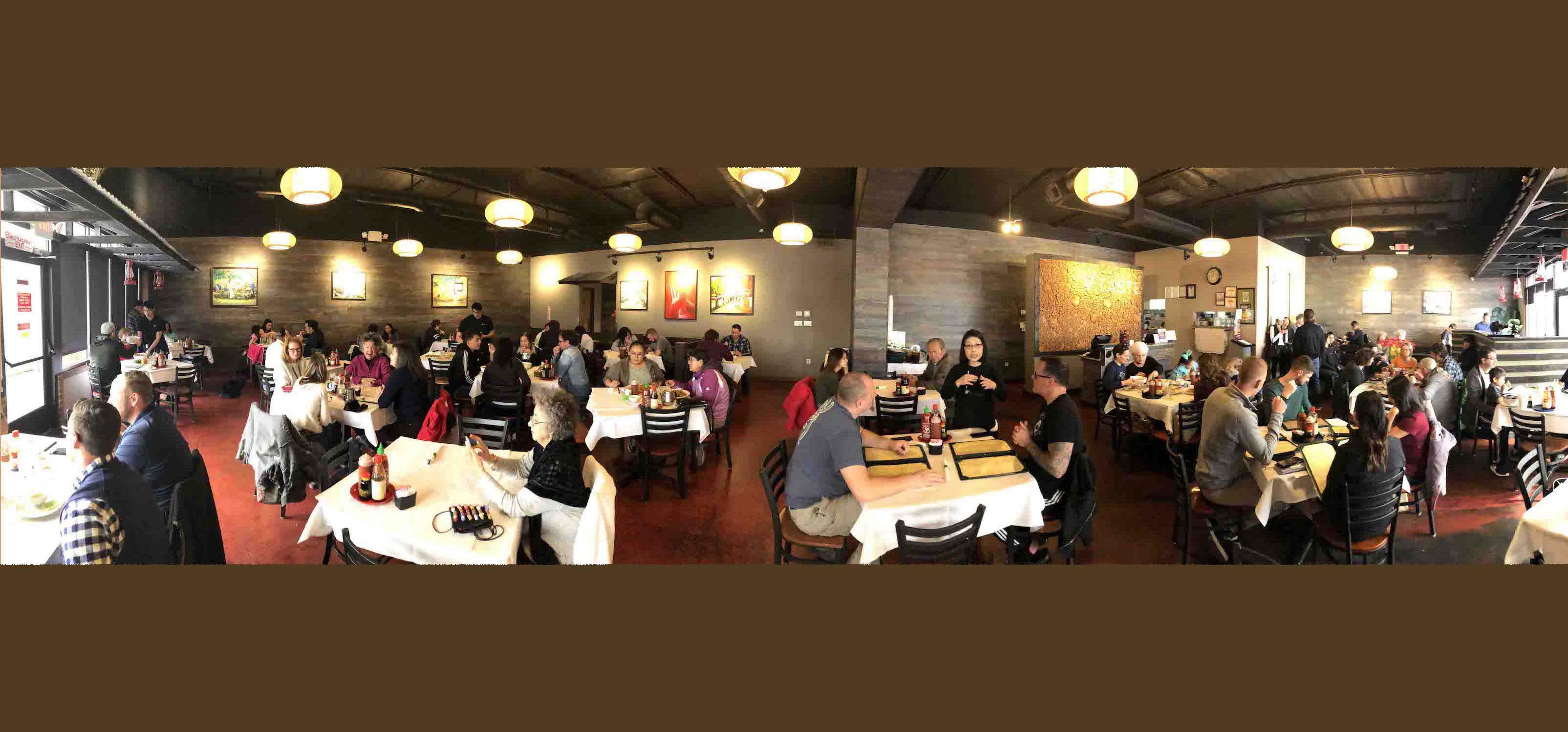 Viet Taste Dining Room Pano