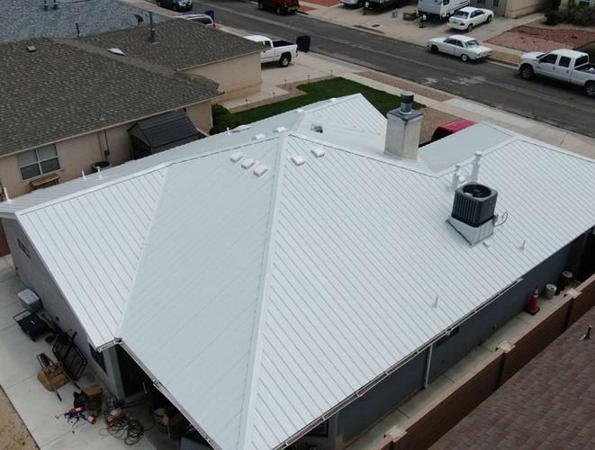 GJ Roofing Metal Roof