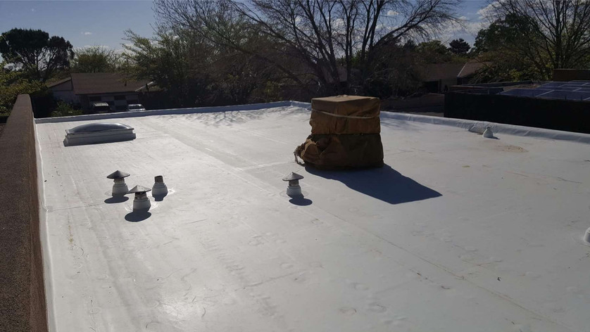 GJ Roofing Flat Roof