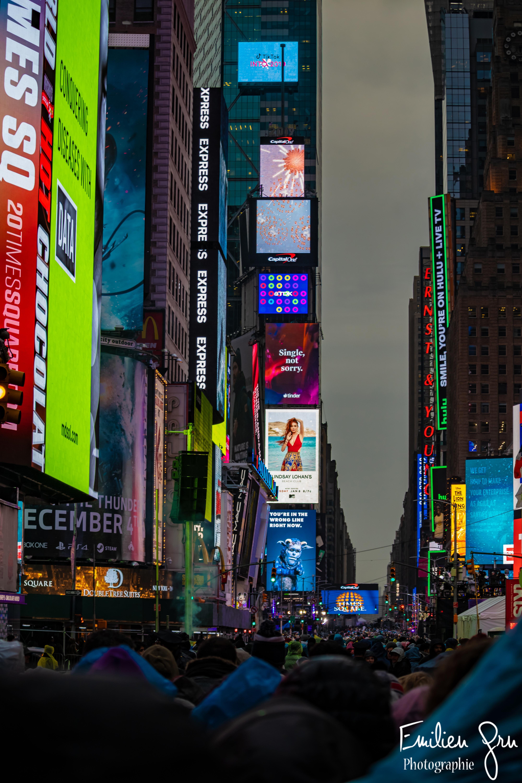 Times Square - Emilien Grn Photographie