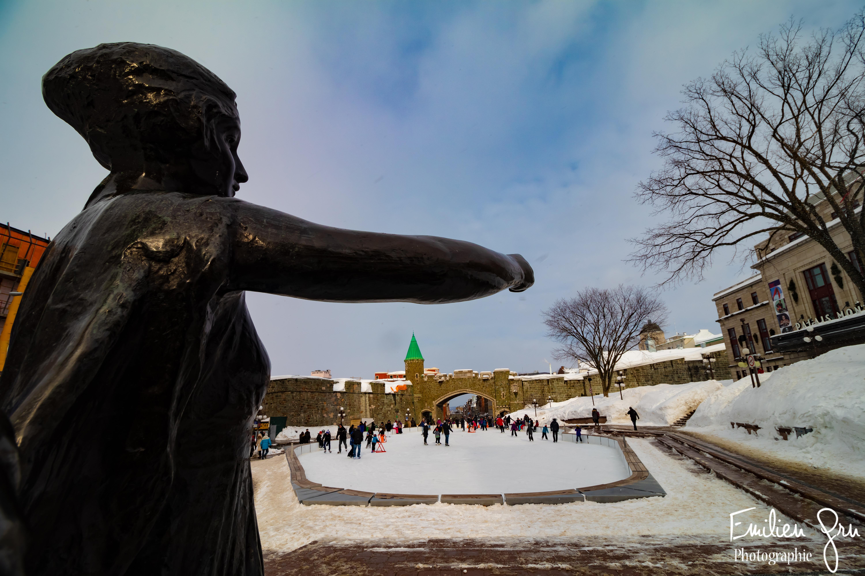 Patinoire Quebec - Emilien Grn Photograp