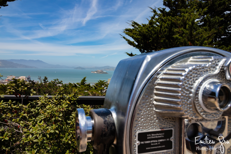 Vue sur Alcatraz - Emilien Grn Photographie
