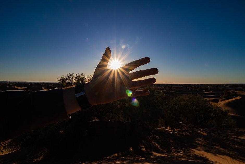 Soleil dans le désert - Grn Photographie