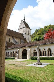 Eglise catholique Collegiale Saint-Ursanne Suisse