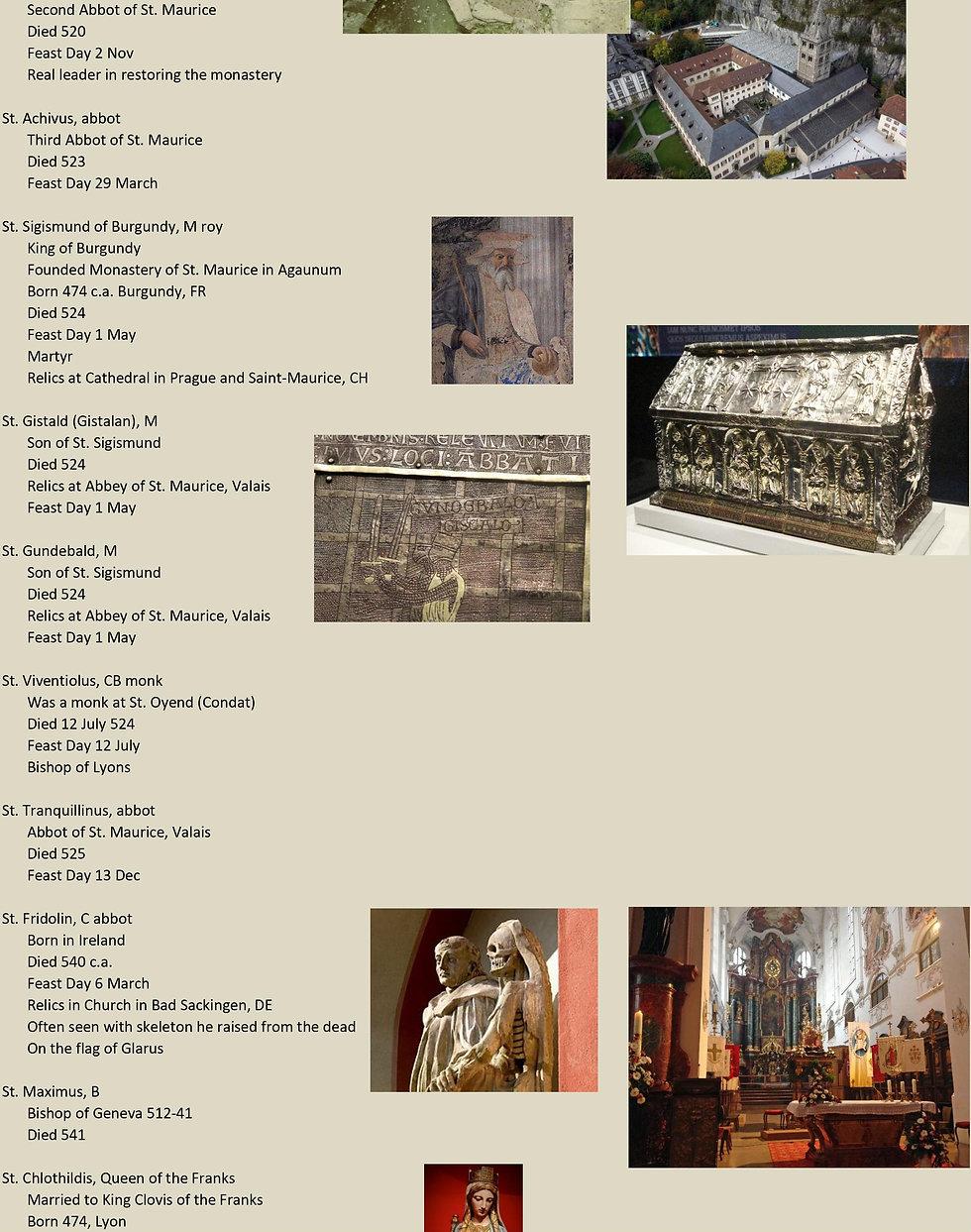 Liste de tous les saints suisses 7 sur 31