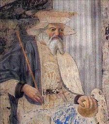 Painting of St. Sigismund- Rosary around Switzerland
