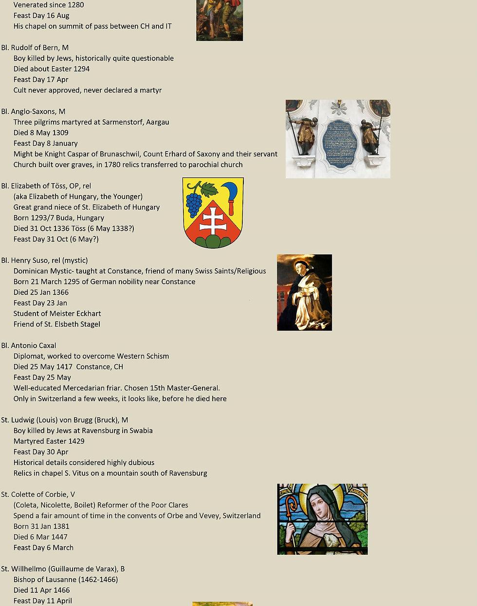 Liste de tous les saints suisses 21 sur 31