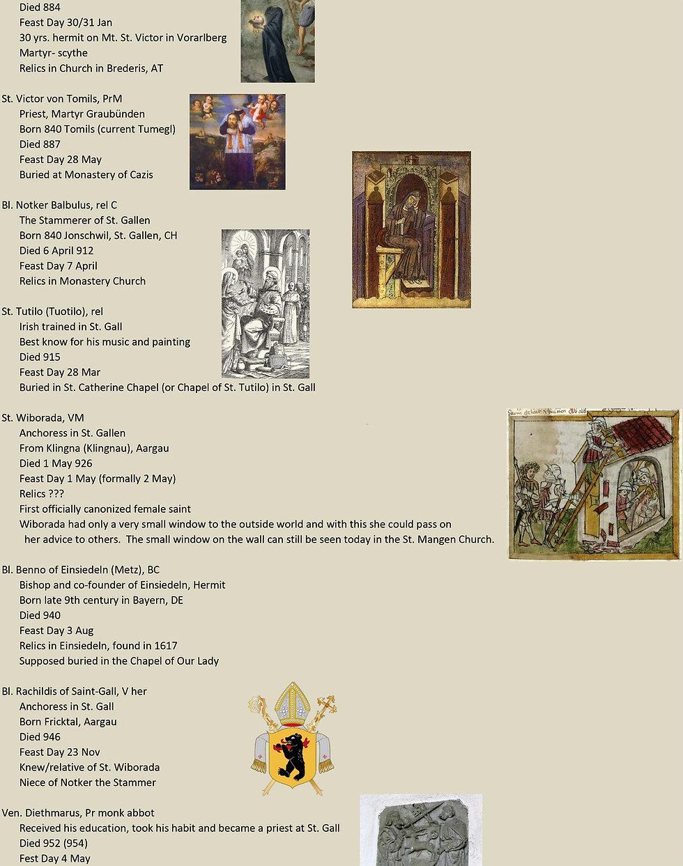 Liste de tous les saints suisses 14 sur 31