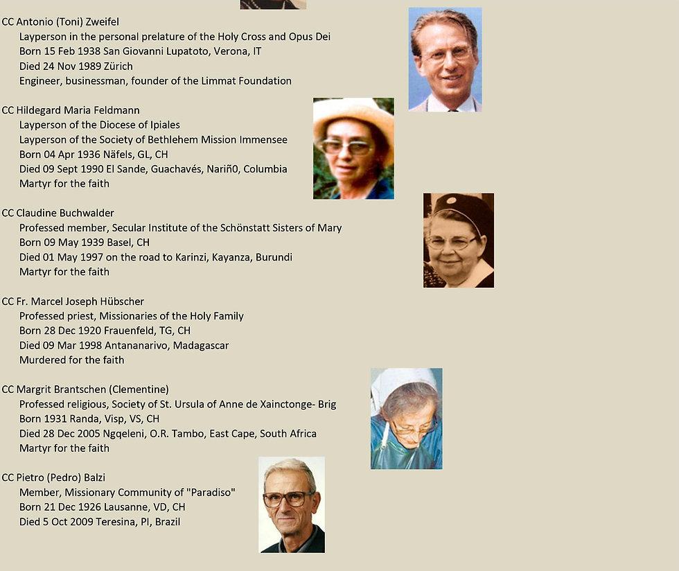 Liste de tous les saints suisses 28 sur 31