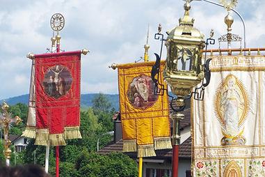 Catholic Corpus Christi procession Switzerland