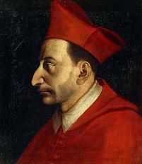 Painting of St. Charles Borromeo- Rosary around Switzerland