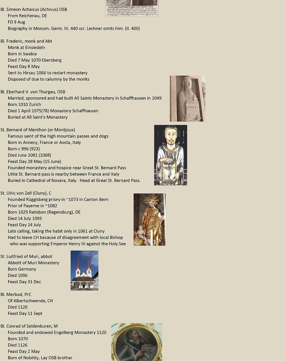 Liste de tous les saints suisses 18 sur 31
