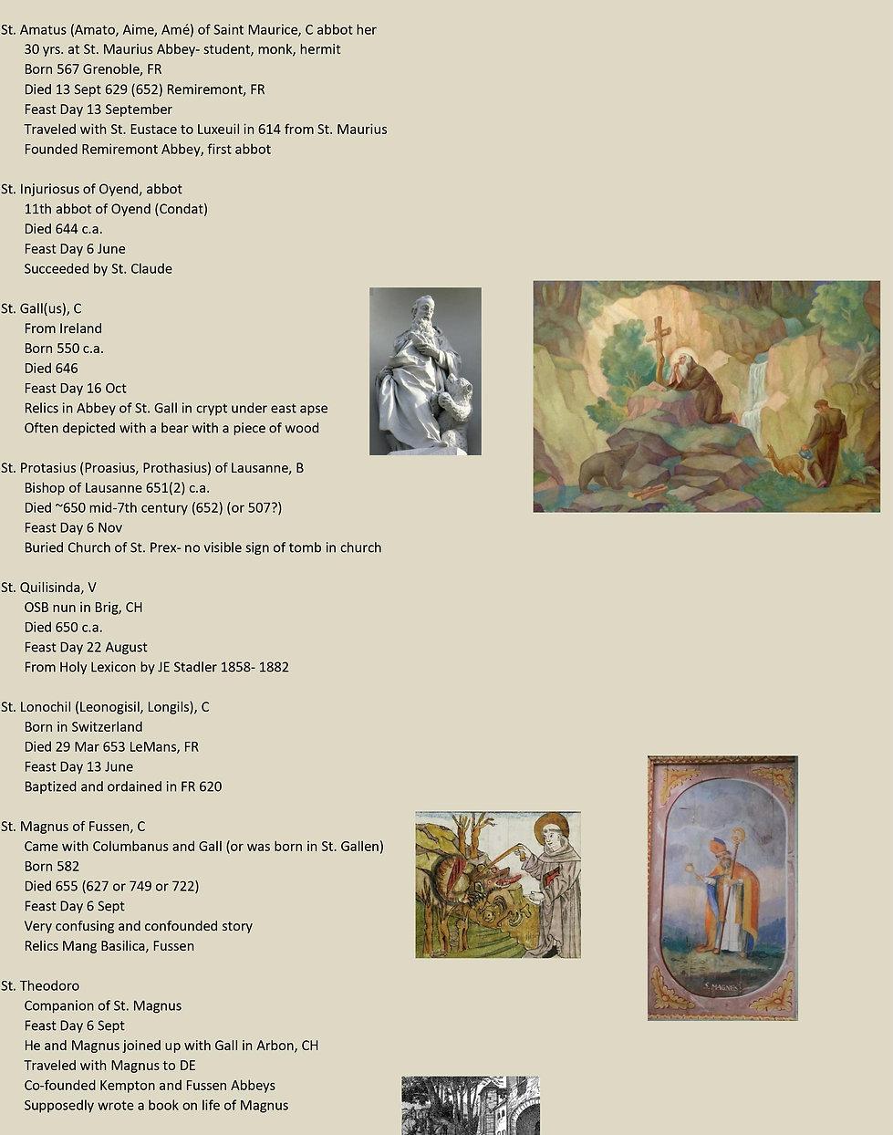Liste de tous les saints suisses 10 sur 31