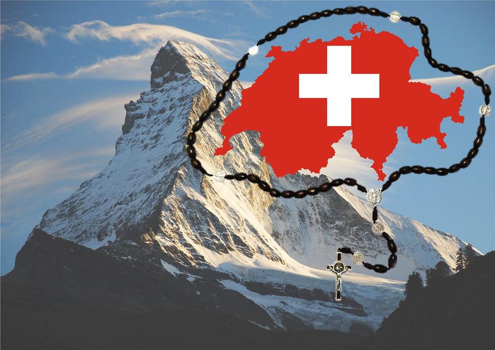 Matterhorn Landing Page of Rosary around Switzerland