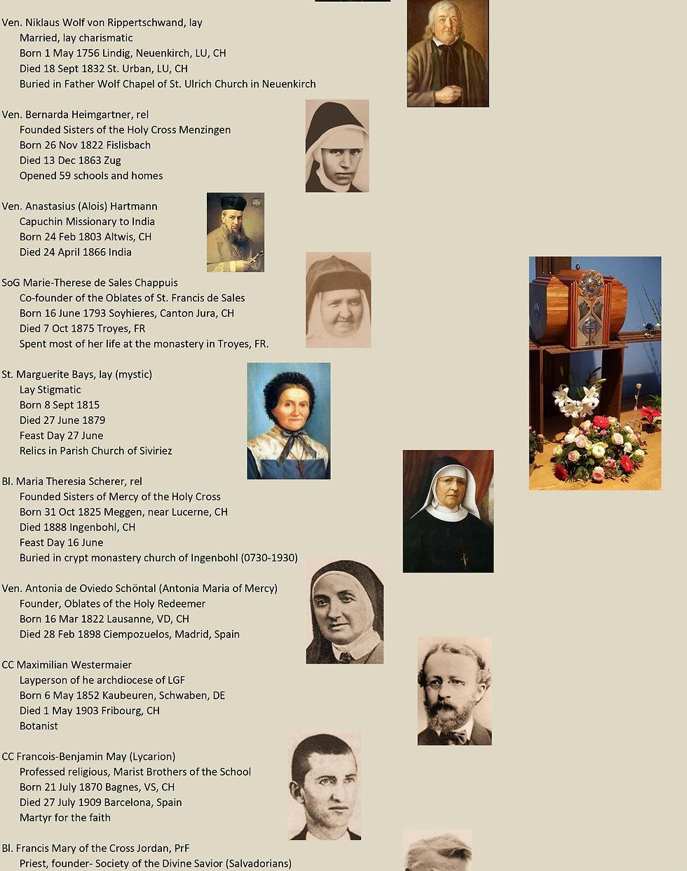 Liste de tous les saints suisses 24 sur 31