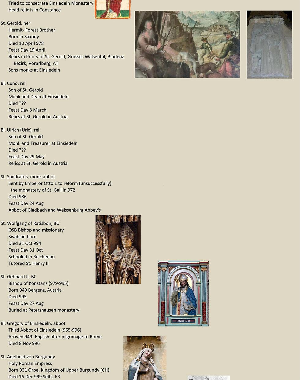 Liste de tous les saints suisses 16 sur 31