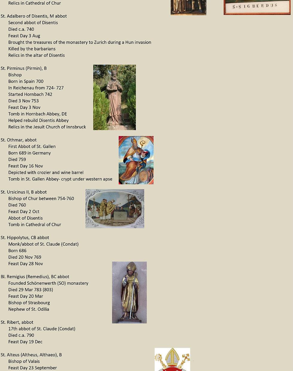 Liste de tous les saints suisses 12 sur 31