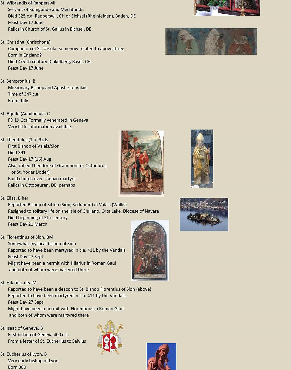 Liste de tous les saints suisses 4 sur 31