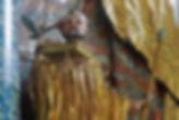 statue Saint Findan Rheinau Monastery Switzerland