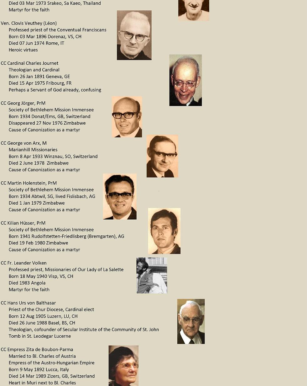 Liste de tous les saints suisses 27 sur 31