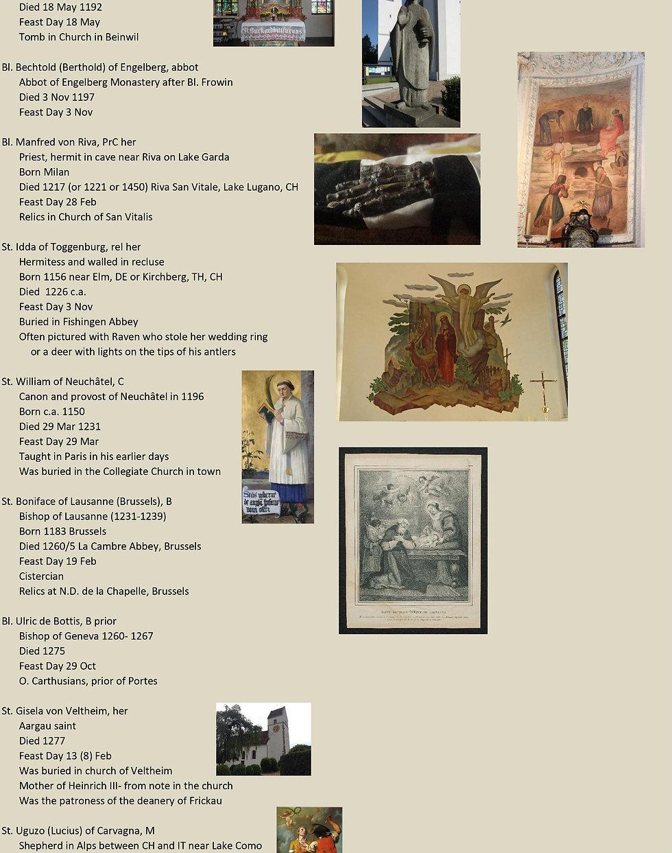 Liste de tous les saints suisses 20 sur 31