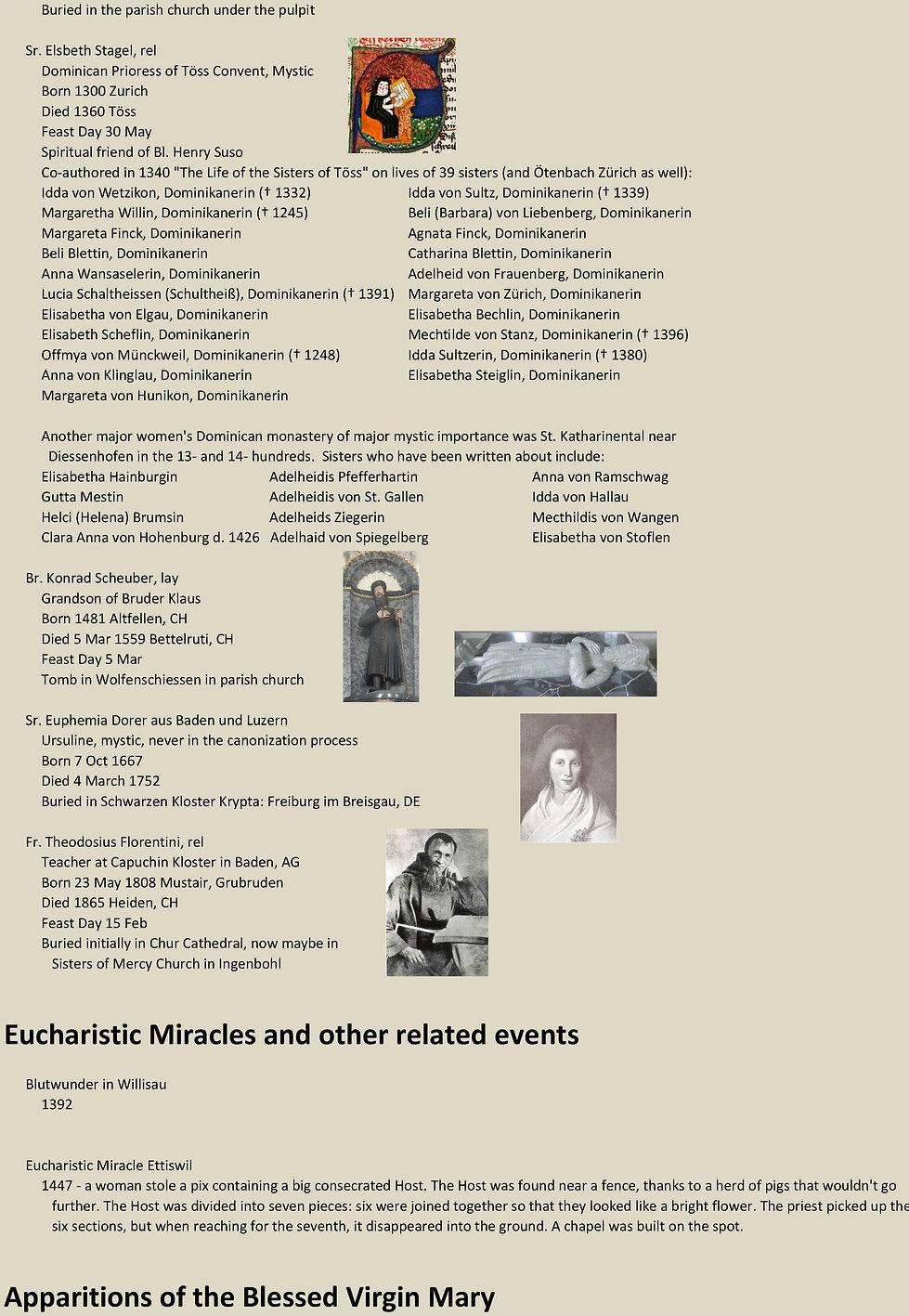 Liste de tous les saints suisses 30 sur 31