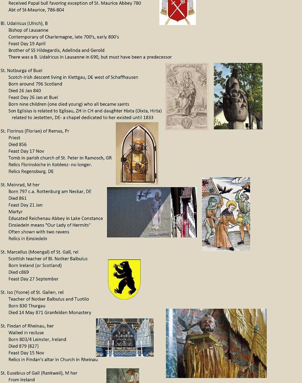 Liste de tous les saints suisses 13 sur 31