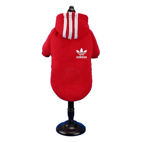 Hoodie - Adidas red