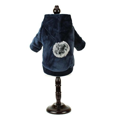 Warm hoodie - Blue