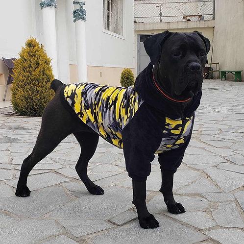 Warm hoodie Camo