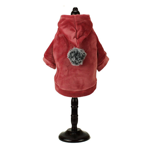 Warm hoodie - Red