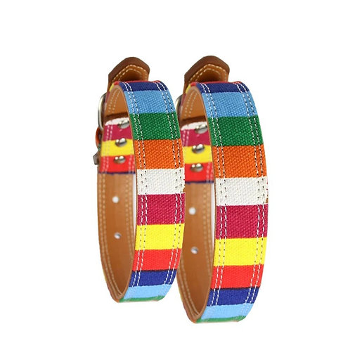 Colorful collar