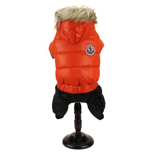Full body winter overcoat - Orange