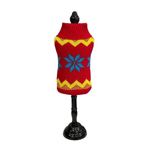 Woven jumper