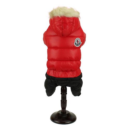 Full body overcoat - Red