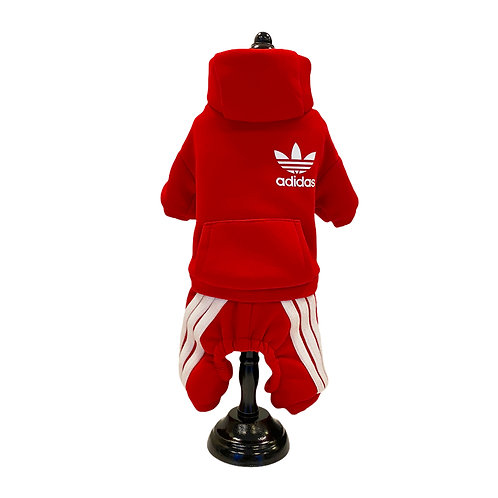 Adidas jumpsuit - Red