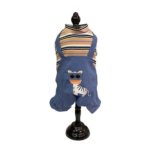 Warm jumpsuit -  Zebra 🦓