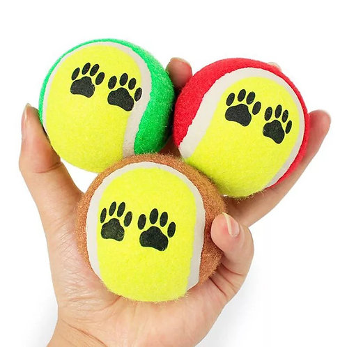 Tennis ball for pets