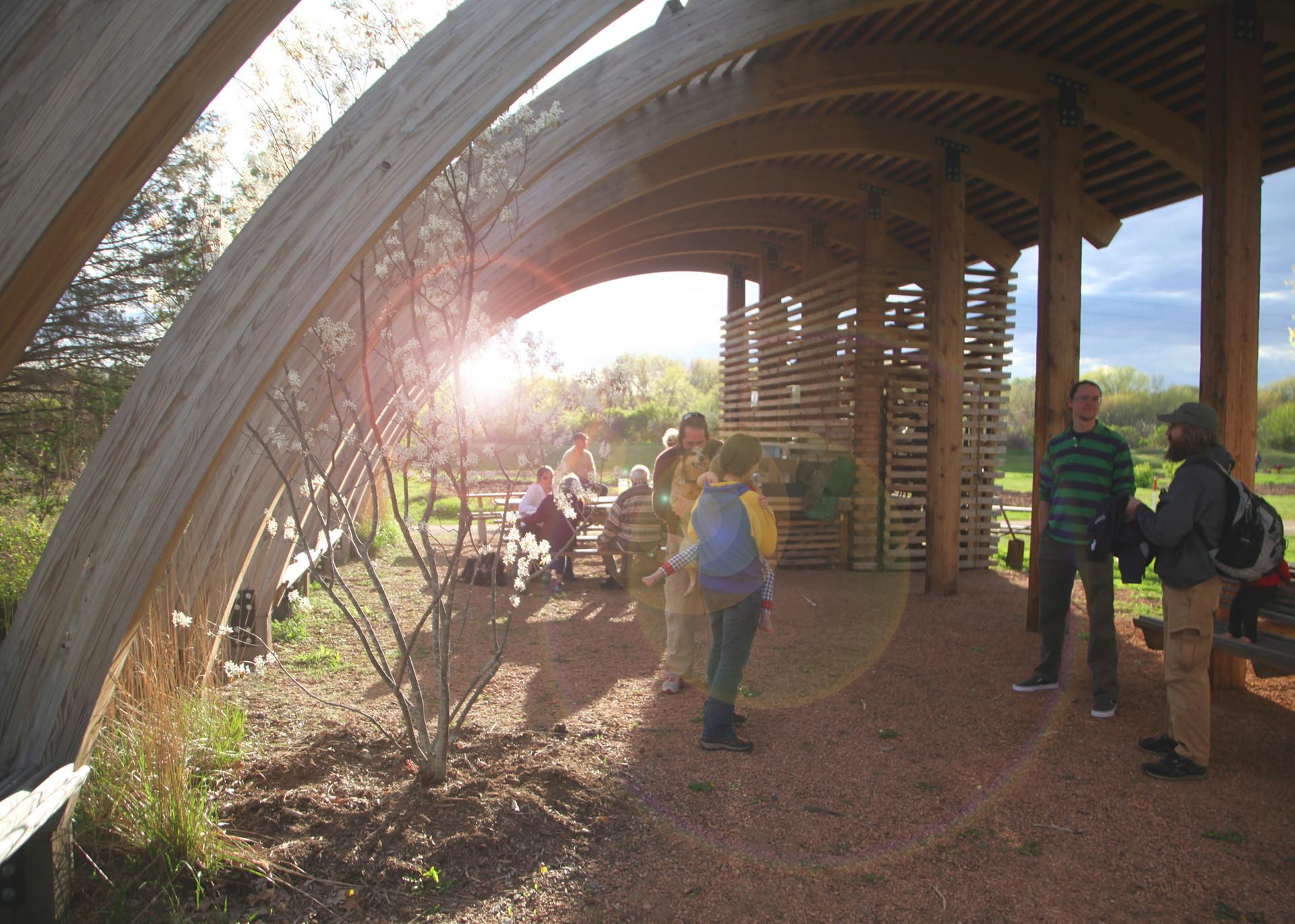 Forest Street Pavilion, Eau Claire