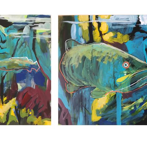 Triptypch: Fish of the Red Cedar